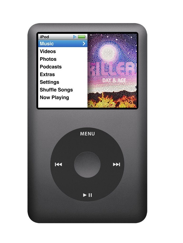 Apple MC297LL/A iPod Classic MP3/MP4 Player