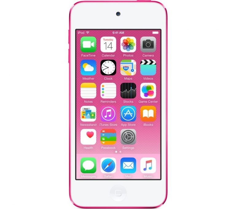 Apple iPod Touch 6th Generation and Accessories, 16GB - Pink