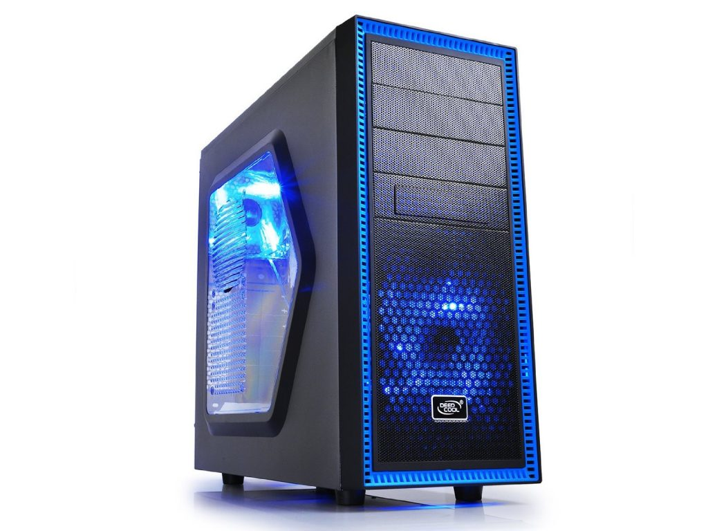 DeepCool TX Mid Tower TESSERACT SW