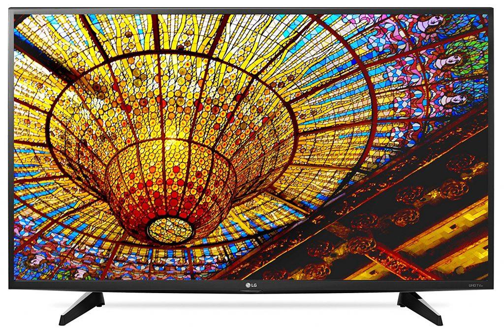 LG Electronics 43UH6100 43-Inch 4K Ultra HD Smart LED TV