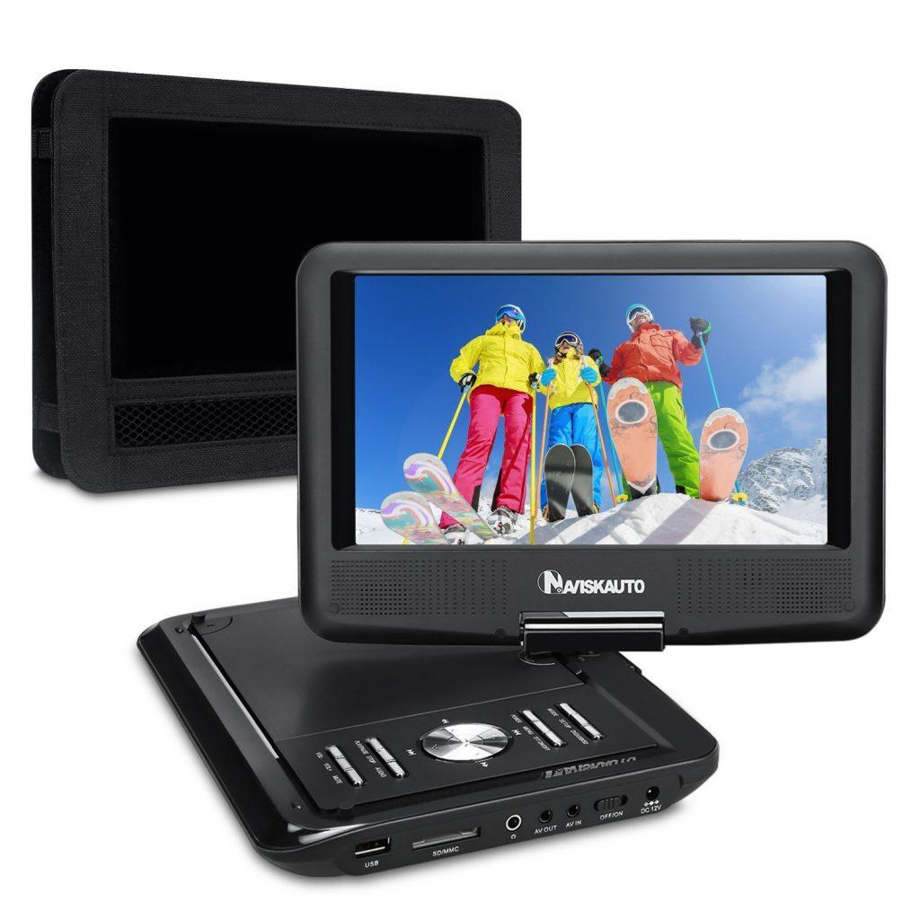NAVISKAUTO 9 Inch Portable DVD