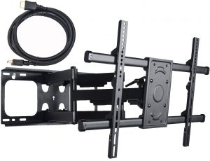 VideoSecu MW380B2 Full Motion Articulating Dual Arms TV Wall Mount