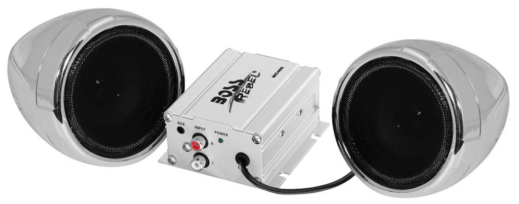 BOSS AUDIO MC400 Chrome