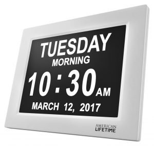 Day Clock - Extra Large Impaired